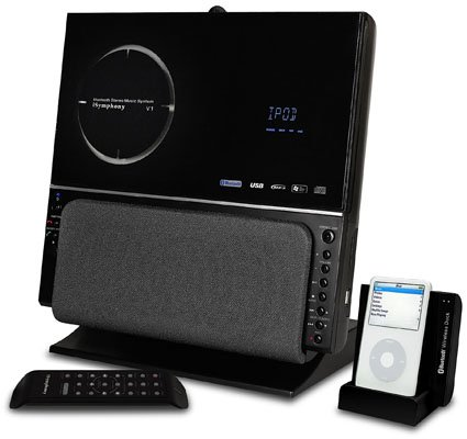 iSymphony V1BLUEe wireless music centre