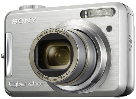 Sony Cyber-shot DSC-S800 - front