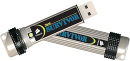 Corsair Survivor armoured USB Flash drive