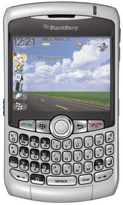 RIM BlackBerry Curve - front