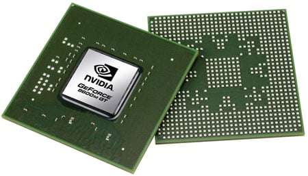 Nvidia GeForce 8600M GT mobile GPU