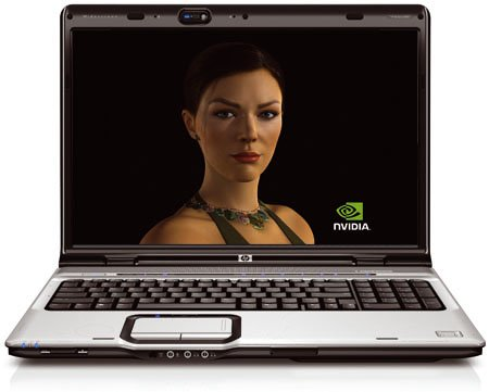 Nvidia GeForce 8600M GT - HP Pavilion dv9000