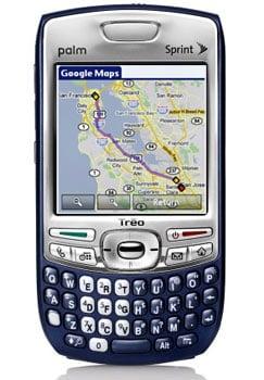 Palm Treo 755p on Sprint