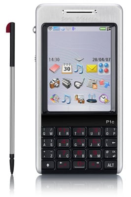 Sony Ericsson P1 smart phone