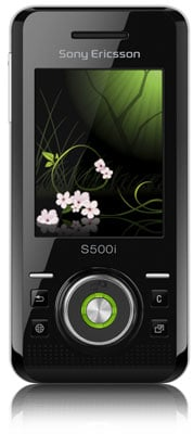 Sony Ericsson 'Mysterious Green' S500