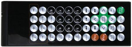 Xoro HSD 7510 LCD TV - remote control