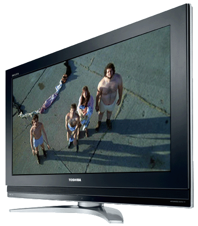 "Toshiba REGZA 26C3030DB - ""Fandango"" image copyright Warner Brothers"
