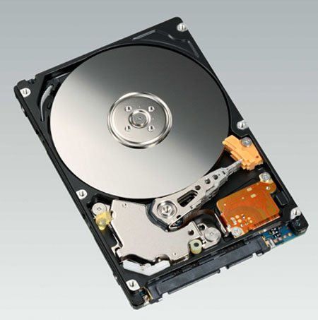 Fujitsu 250GB 9.5mm-thick 2.5in hard drive