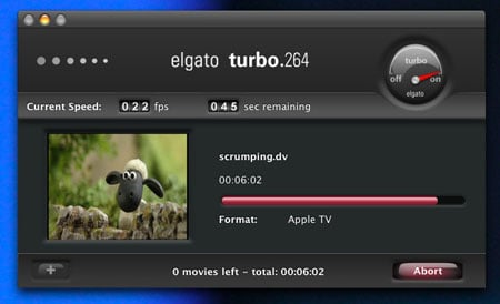 Elgato's Turbo.264 application