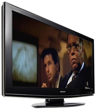 "Sharp LC32RD2E LCD TV - ""The Hunt for Red October"" image copyright Paramount Pictures"