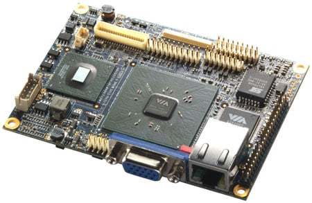 VIA EPIX PX Pico-ITX motherboard