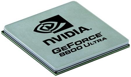 Nvidia GeForce 8800 Ultra GPU