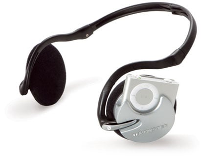 Monster iFreePlay iPod Shuffle-friendly headphones