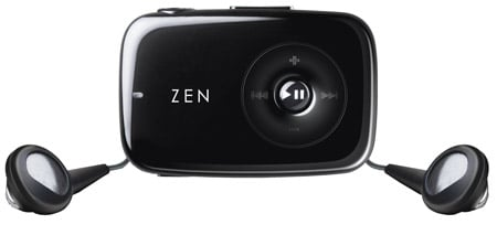 Creative Zen Stone MP3 player (black)