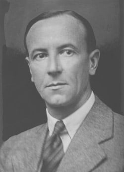 James Chadwick. Image credit: Godfrey Argent Studio