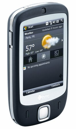 HTC Touch, touch-screen mobile phone