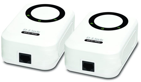 D-Link DHP-301 200Mbps powerline Ethernet adaptors