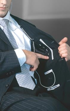 Bagir's MusicStyle iPod-friendly suits