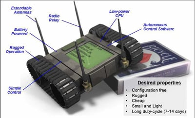 DARPA conception of a notional LANdroid.