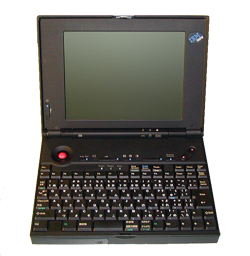 IBM ThinkPad 220 - image courtesy ThinkWiki