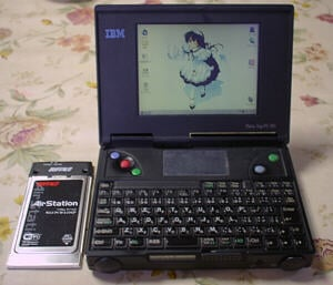 IBM ThinkPad PC110 - image courtesy Komotch