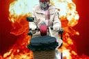 Our artist's impression of a Terminator granny astride a mobility scooter