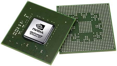 Nvidia GeForce 8700M GT