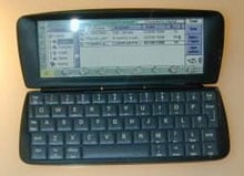 Psion's unreleased Revo, with Bluetooth