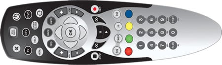 TVonics DVR-250 - the remote control
