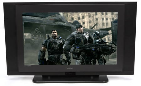 Evesham 26in Alqemi V HD TV (image from Gears of War for the Xbox 360)