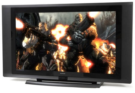 Evesham 26in Alqemi VX HD TV (image from Gears of War for the Xbox 360)