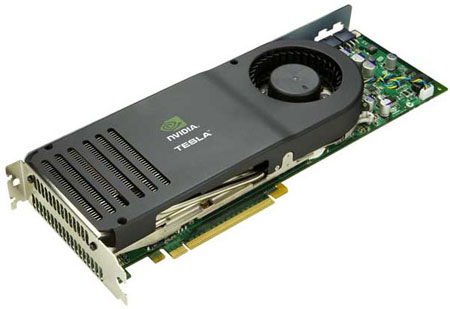 Nvidia Tesla C870 GPGPU card