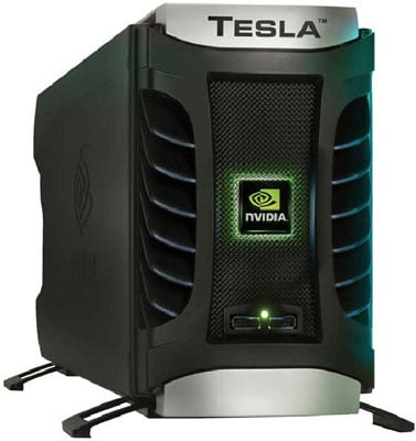Nvidia Tesla D870 Deskside Supercomputer