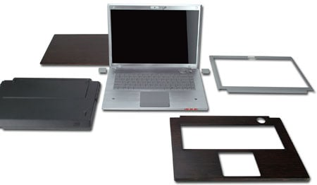 Asus EcoBook wood-covered