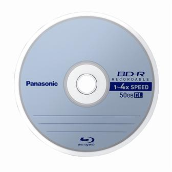 Panasonic 4x BD-R disc