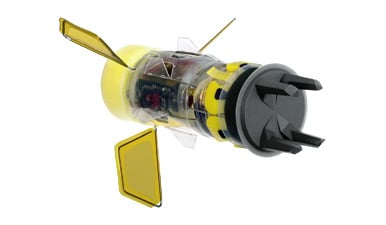 A picture of Taser's new electric shock shotgun shell