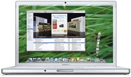 Apple's MacBook Mini - artists impression