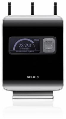 Belkin N1 Vision 802.11n router