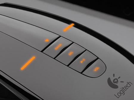 Logitech MX Air wireless mouse