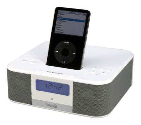 Logic3 i-Station IS10 iPod alarm clock (iPod not included)