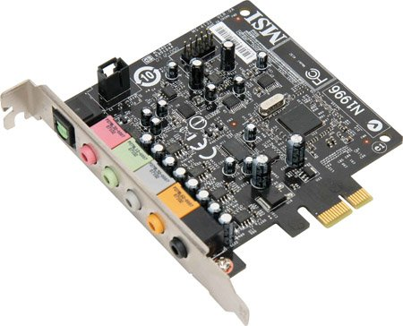 MSI P35 Diamond X-Fi Audio card