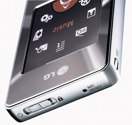 LG Touch Me FM37 MP3 player