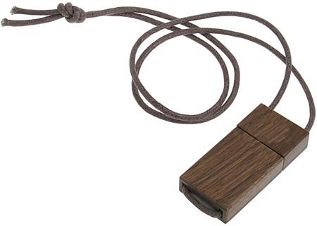 Wooden USB Memory Strap