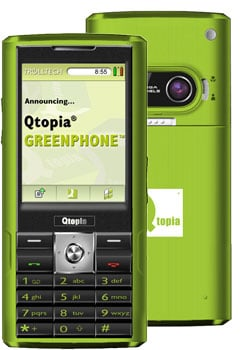 Picture of the Greenphone.