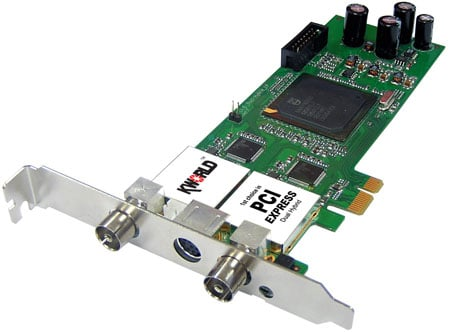 KWorld PlusTV Dual Hybrid PCIe card