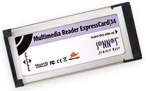Sonnet 12-in-1 ExpressCard reader