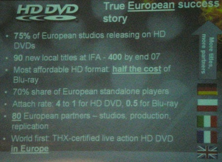 HD DVD Promotion Group slide