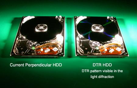 Toshiba Discrete Tracks Recording