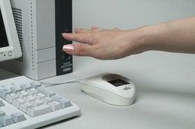 Fujitsu palm-vein scanning mouse
