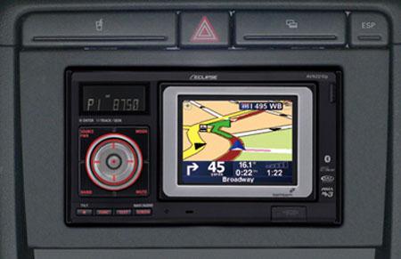 TomTom embedded in a Toyota Yaris